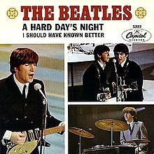 A Hard Days Night - The Beatles s77